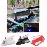 Antena Sirip Hiu LED Mobil SIGRA Tenaga Angin