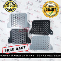 Cover Tutup Radiator Yamaha Nmax N Max / Aerox Sarang Tawon