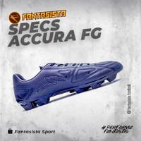 SEPATU BOLA SPECS - ACCURA FG - ORIGINAL - Triple Black, 37