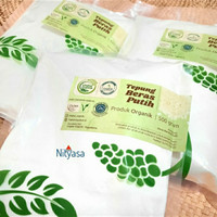Tepung Beras Menthik Putih Lingkar Organik 500 gr gluten free