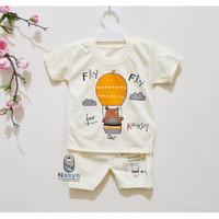 J0003- Pakaian / Setelan Baju Bayi Laki-laki Murah Newborn 0-6 Bulan