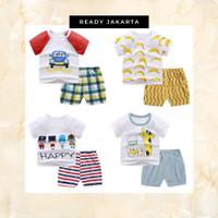 Baju Jumper Anak Piyama Tidur Pakaian Pria Wanita Fashion Korea
