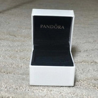 kotak charm cincin anting pandora ori