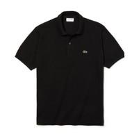 Baju Kaos Pria Lacoste Polo Shirt - Black Original