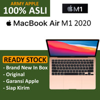 Apple MacBook Air M1 Chip 2020 8GB 13 256GB / 512GB GRAY GOLD SILVER