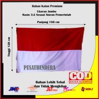 bendera merah putih katun 180 x 120