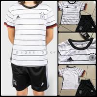 Jersey Kit Bola Setelan Negara Jerman Germany Kids Anak Home 2020 2021
