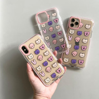 ANIMAL ZOO CASE iPhone 12 12Pro 12ProMax 11 11Pro 11ProMax 7 8 Plus XS