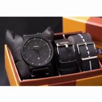 jam tangan pria fossil paket sesuai gambar