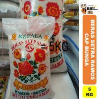 BERAS SETRA RAMOS CAP BUNGA - 5KG/10KG/20KG - 5 Kg