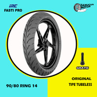 Ban Motor Matic RACING COMPOUND // IRC FASTI PRO 90/80 Ring 14