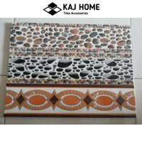 List plint keramik motif 10x40 cm import