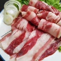 Daging Shortplate Us Beef Slice 500 gram