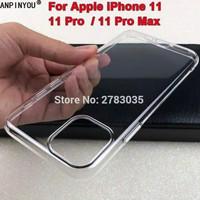 Full Body iPhone 11 Pro Max 6.5 - Clear Hard Case Casing Transparan Mi