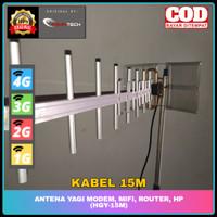 Antena Yagi Modem, Mifi, Router, HP 4G (HGY-15M)
