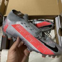 Sepatu Bola Nike Mercurial Superfly 7 Elite Bomber grey FG -soccer