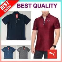 Kaos Polo Shirt OlahRaga PRIA Senam Lari Fitness Gym Yoga Baju Kerah