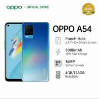 oppo a54 4 128gb garansi resmi indonesia
