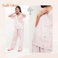 Baju Tidur Piyama Model Kimono Organic Silk GREET T-090 PP