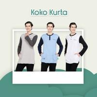 Baju Koko Terbaru Kaos Kurta Anak Muslim Usia 3-15 Tahun NUHAA KIDS