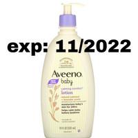 Aveeno Baby, Calming Comfort Lotion, Lavender & Vanilla, 532 ml
