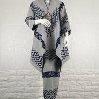 Setelan blouse rok tenun baju wanita baju tenun