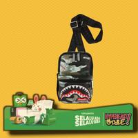 TAS SELEMPANG SPRAYGROUND CAMO MONEY SHARK SLING ORIGINAL SHOULDER BAG