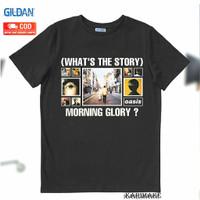 OASIS WHATS THE STORY MORNING GLORY GILDAN -KAOS BAND T SHIRT MERCH