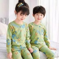 Piyama anak / Baju tidur anak model kekinian / Stelan panjang anak