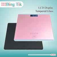 Timbangan Badan Digital 180 Kg LCD Display Tempered Glass