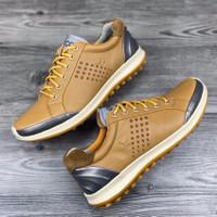 Sepatu golf ecco waterproof cowhide golf shoes - 39