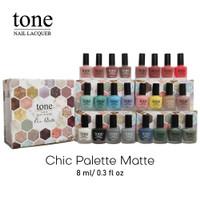 TONE MATTE NAIL LACQUER 8ML - KUTEK TONE MATTE 8ML BPOM - NAIL POLISH