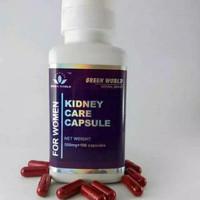 Kidney Care Capsule For Women Green World - Herbal Wanita Menopause