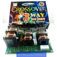 RAKITAN AMPLIFIER KIT CROSSOVER PASIF 3 WAY STEREO NITRO 203 380 Watt