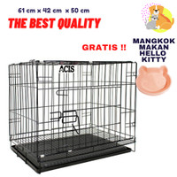 Kandang Besi Kucing Anjing / Dog Cage / Cat Cage / ACIS Cage 600A