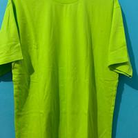 baju kaos polos hijau tosca