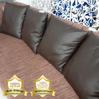 Bantal Sofa Mobil Kulit (WATERPROOF) sarung pillow - Elegance