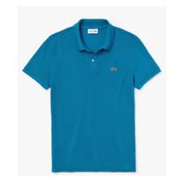 Baju Kaos Pria Lacoste Polo Shirt - Blue YZW Original