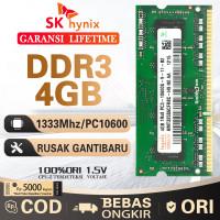[BARU] RAM / MEMORY hynix SODIMM laptop DDR3 4GB 1333/10600 4G sodim