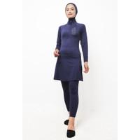 Td Active LSA21 Set Baju Renang Set Hijab Muslim Hijab Atasan Legging