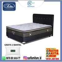 Spring bed Impressa Pocket Latex 180x200 (Full set) Elite Serenity
