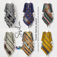 Tunik Tenun Lancip  Baju Batik / Katun / Kasual / Wanita /Murah