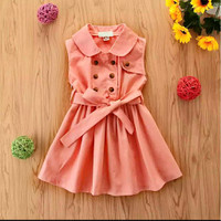 Baju Anak Perempuan Dress Xaveraa Untuk Umur 2 - 6 Tahun