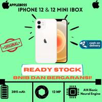 (RESIMI IBOX) IPHONE 12 64 / 128 / 256 BNIB NEW ORIGINAL 12 |12 Mini