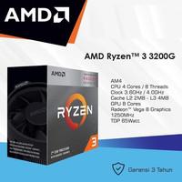 AMD AM4 RYZEN 3 3200G 4/4 CT VEGA GRAPHIC + ASROCK B450M-HDV R4.0 AM4