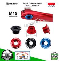 Baut Tutup Penutup Cover Crank Engkol Sepeda M19 Hollowtech HT2 Kiri