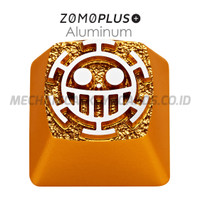 ZOMO One Piece Trafalgar Law Aluminum Keycap