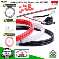 Kabel Selang Rem Hidrolik Cakram Sepeda Lipat MTB BH59 BH90 Shimano