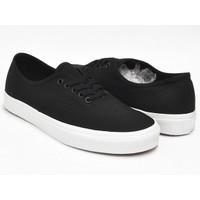 Sepatu Vans Authentic Mono Hitam Premium