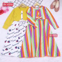 Gamis Pita 4-5 Tahun / Gamis Anak Baju Muslim Anak Baju Ngaji Dress